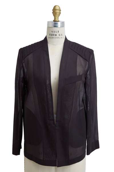 Brunello Cucinelli - Volcano Cotton Organza Jacket