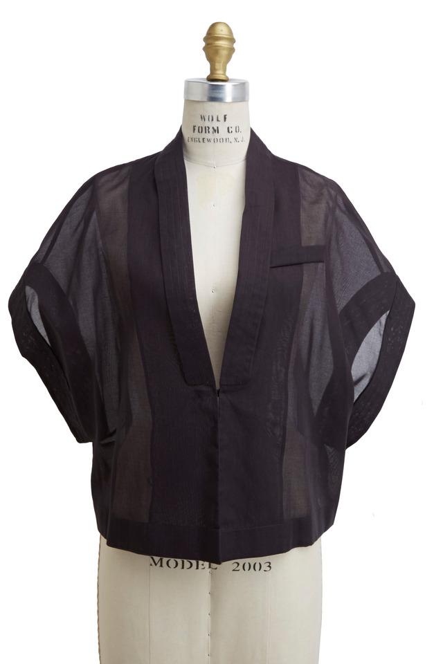 Volcano Cotton Organza Jacket