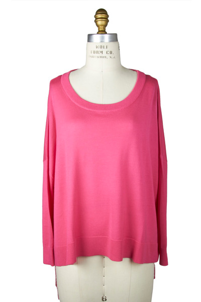 Michael Kors Collection - Carnation Cashmere Crew Sweater