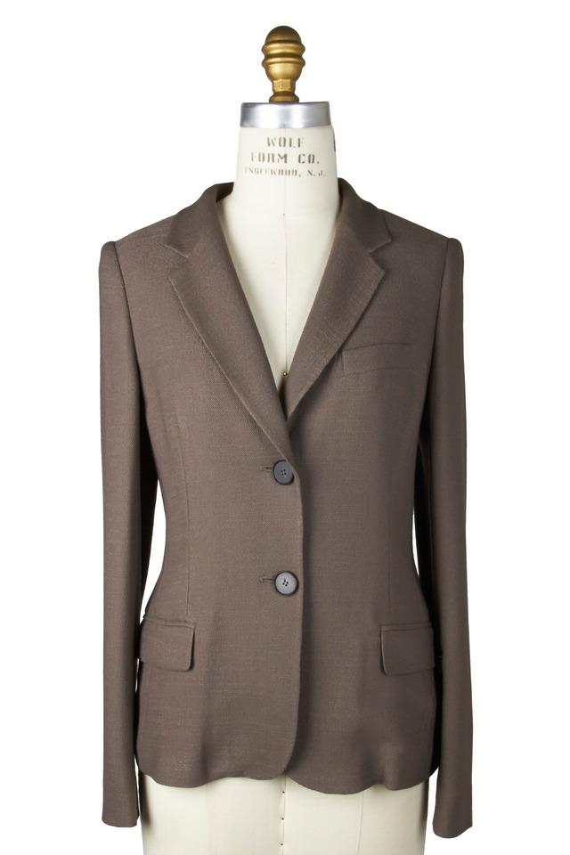 Jari Taupe Silk Jacket
