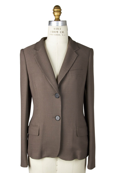 Bogner - Jari Taupe Silk Jacket