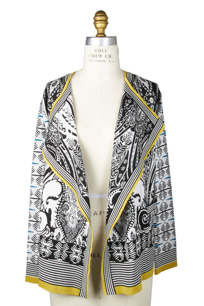 Etro - Black & White Cardigan