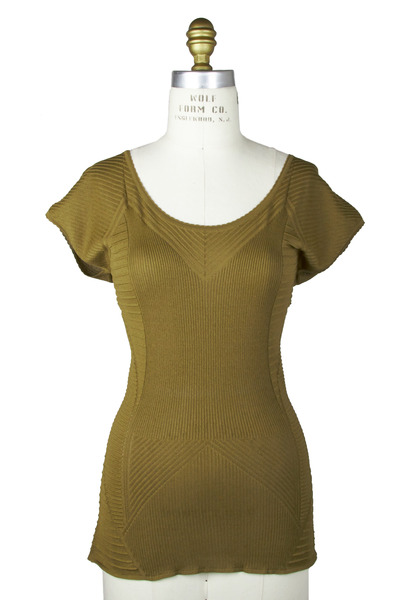 Etro - Olive Green Viscose Sweater