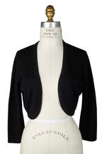 Oscar de la Renta - Black Cashmere & Silk Shrug
