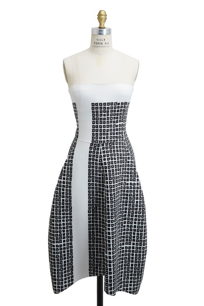 Reed Krakoff - Black & White Scuba Dress