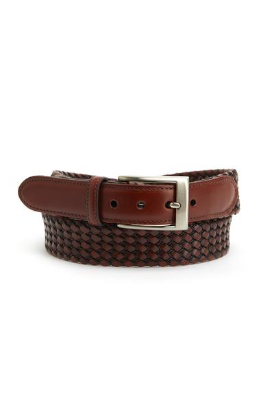 Torino - Black & Cognac Kipskin Belt