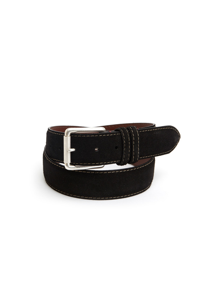 Black Suede Belt