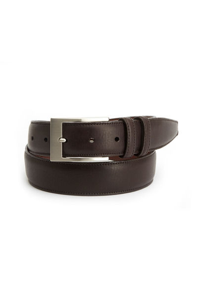 Torino - Dark Brown Deerskin Belt