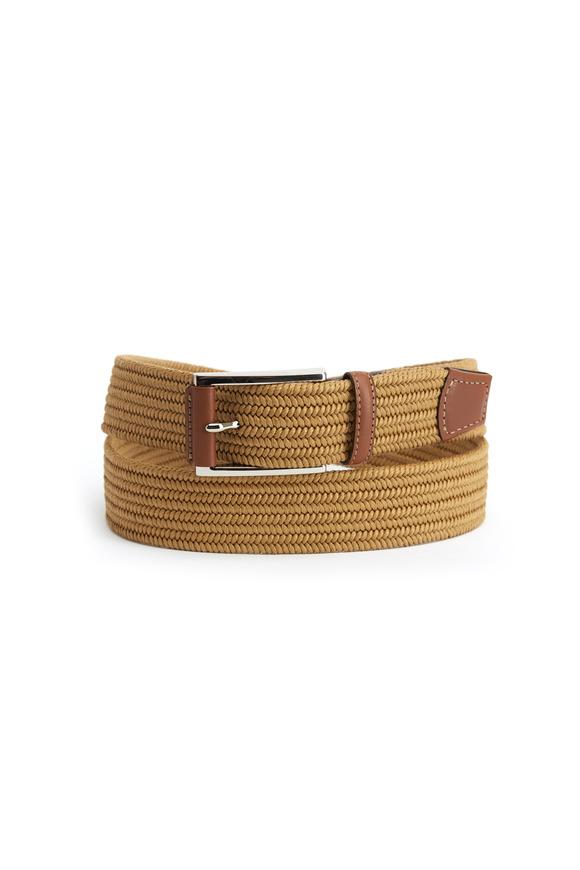 Torino Khaki Cotton Woven Belt