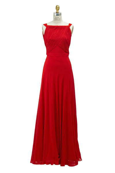 Saint Laurent - Red Gown