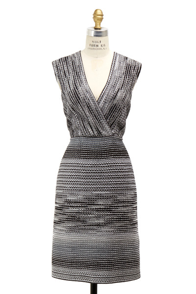 Missoni - Black & White Lurex Dress