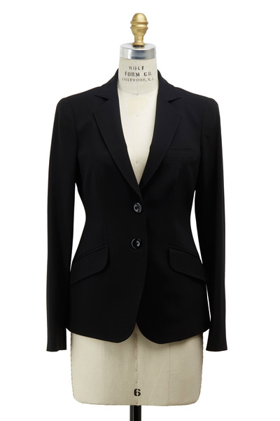 Emporio Armani - Black Wool Jacket