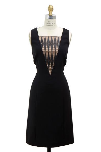 Derek Lam - Black Leather Dress