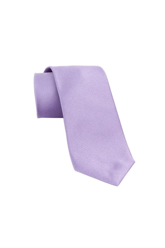 Lilac Woven Silk Necktie