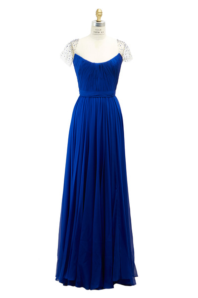Reem Acra - Royal Blue Gown