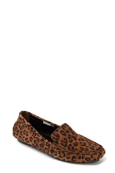 Manolo Blahnik - Mocc Leopard Suede Mocassin