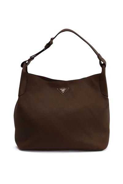 Prada - Brandy Leather Hobo Bag