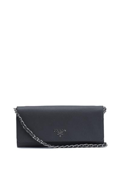 Prada - Grey Saffiano Sport Wallet