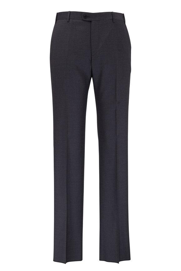 Zanella Devon Gray Super 120's Wool Pants