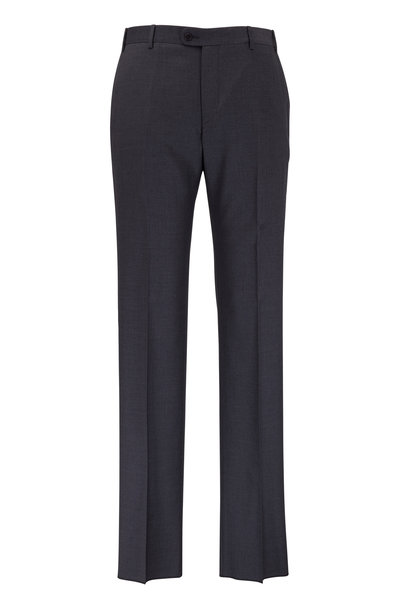 Zanella - Devon Gray Super 120's Wool Pant