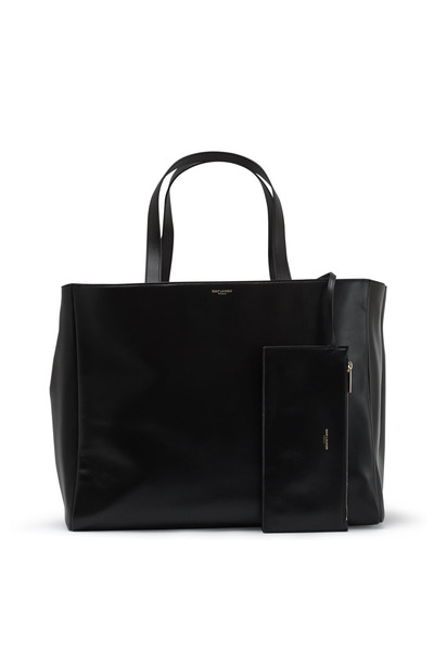 Saint Laurent - Lauren Black Sabbia Shopper Handbag