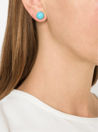 Irene Neuwirth - 18K Yellow Gold Turquoise Studs