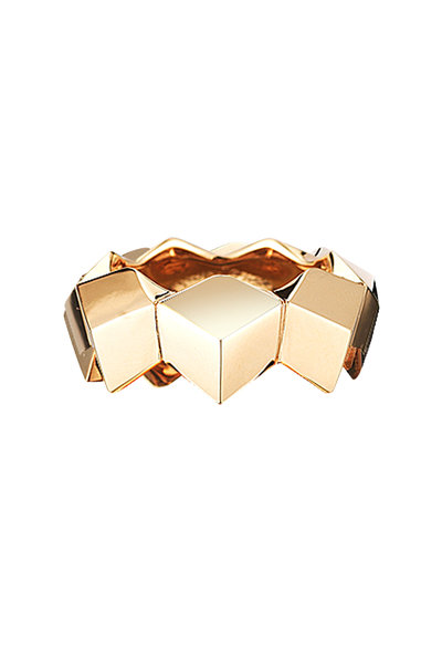 Paolo Costagli - Rose Gold Brillante Stack Band Ring