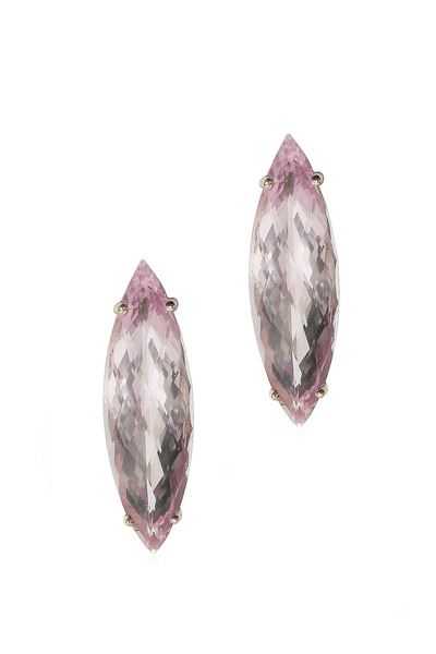Paolo Costagli - Morganite Navette Drop Earrings