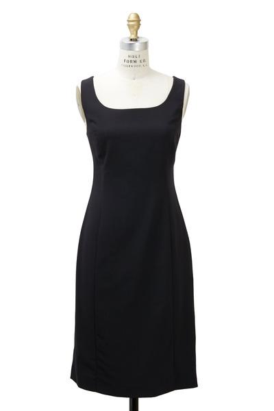 Emporio Armani - Black Crepe Tank Dress