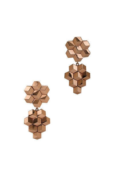 Paolo Costagli - 18K Rose Gold Brilliante Earrings