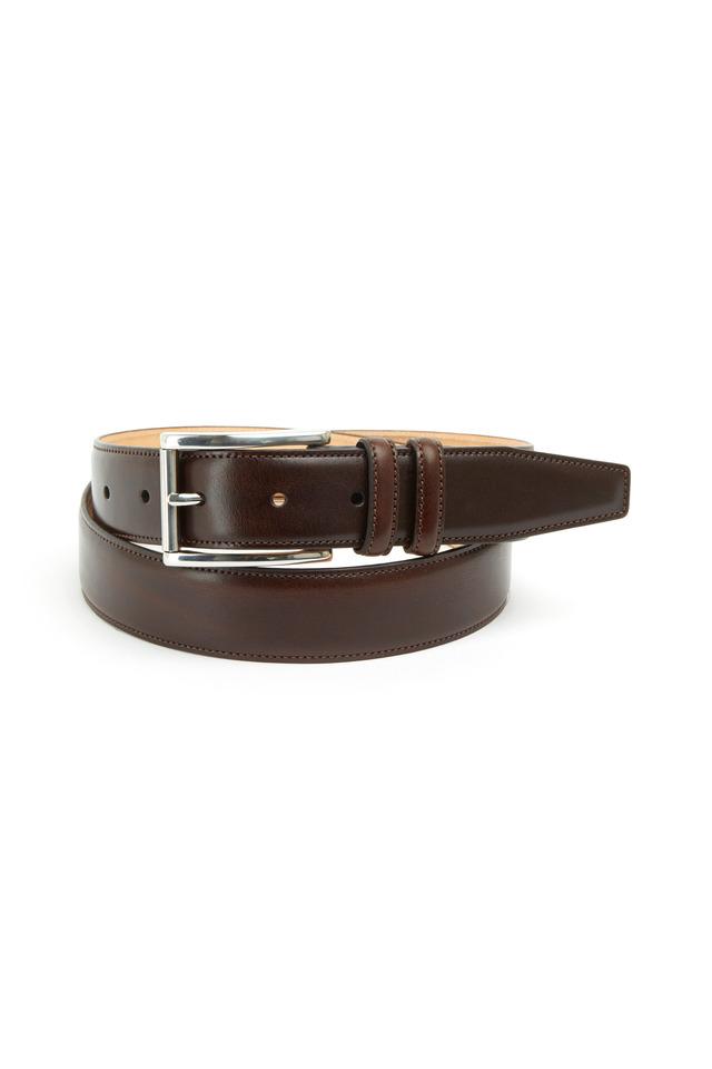 Lorenzo Brown Leather Belt