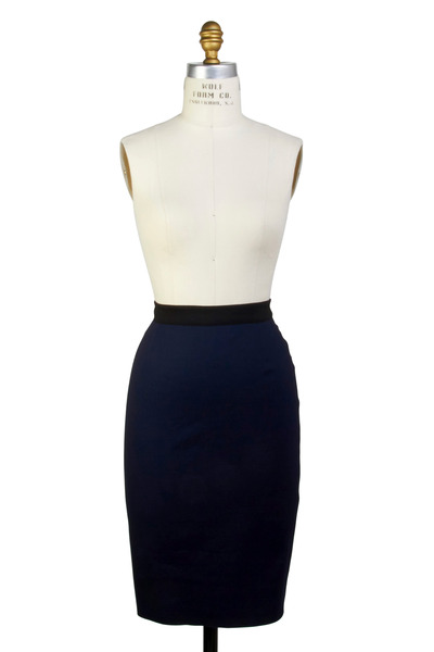 Lanvin - Marine Pencil Skirt