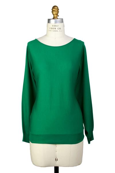 Lanvin - Emerald Sweater