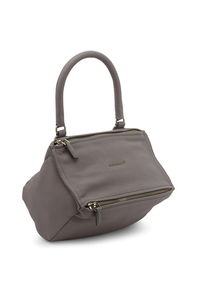 Givenchy - Pandora Gray Leather Small Messenger Bag