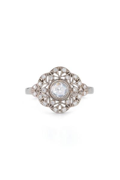 Kwiat - Vintage White Gold Diamond Ring