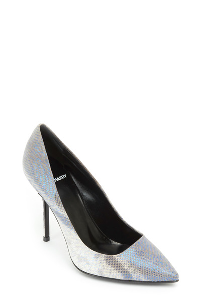 Pierre Hardy - Blue Watersnake Classic Pumps
