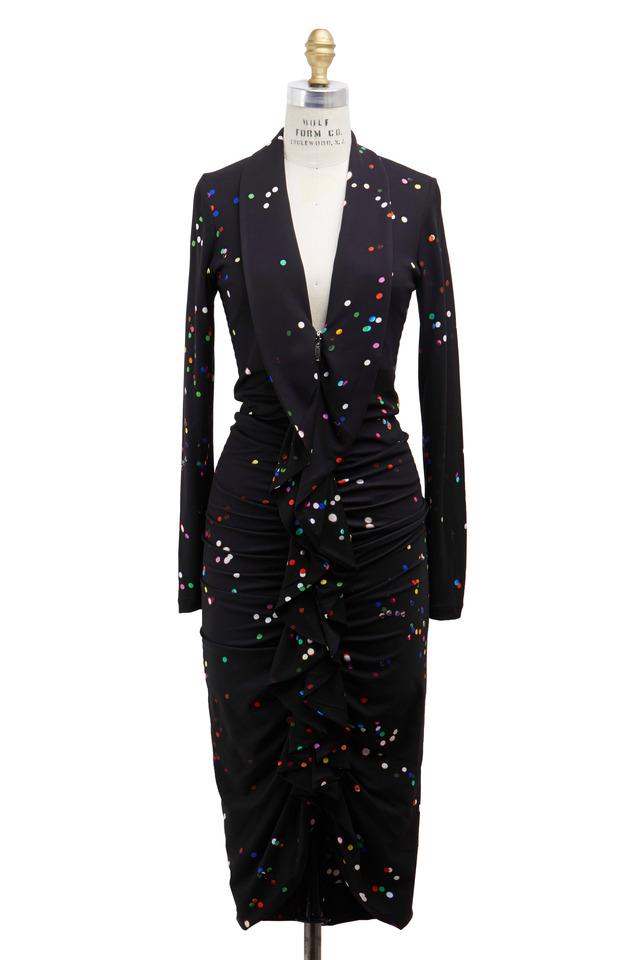 Black Confetti Dress