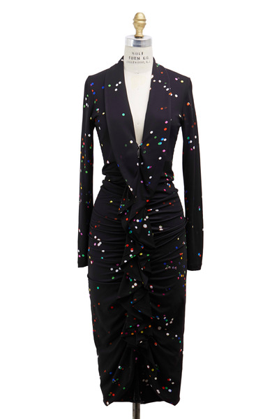 Givenchy - Black Confetti Dress