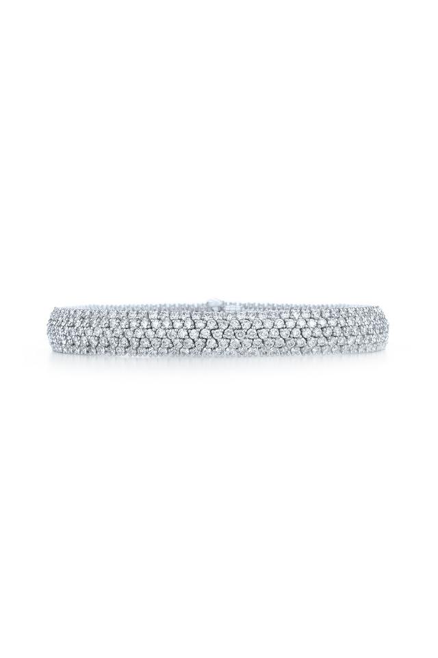 White Gold Moonlight Diamond Bracelet
