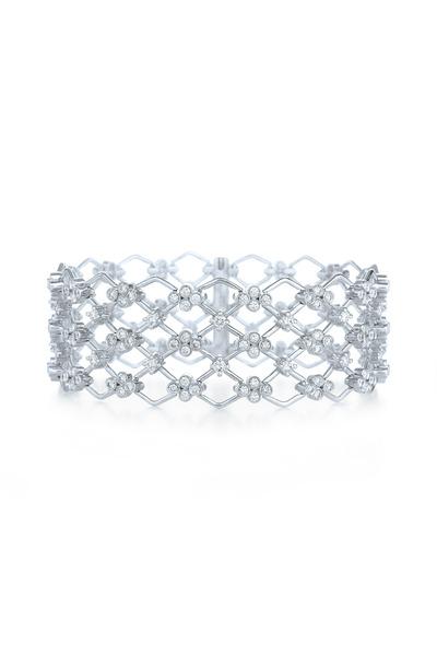 Kwiat - Jasmine White Gold Diamond Bracelet