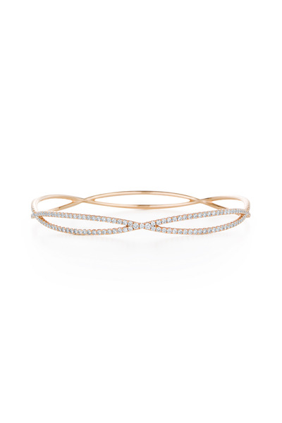 Kwiat - 18K Rose Gold Diamond Bangle