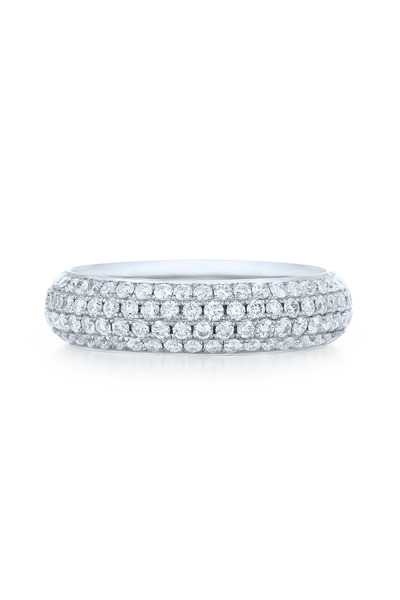 Kwiat - 18K White Gold Pavé Diamond Ring