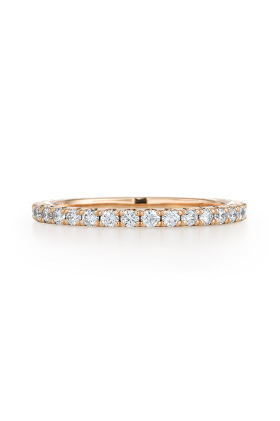 Kwiat - Pink Gold Diamond Stack Ring