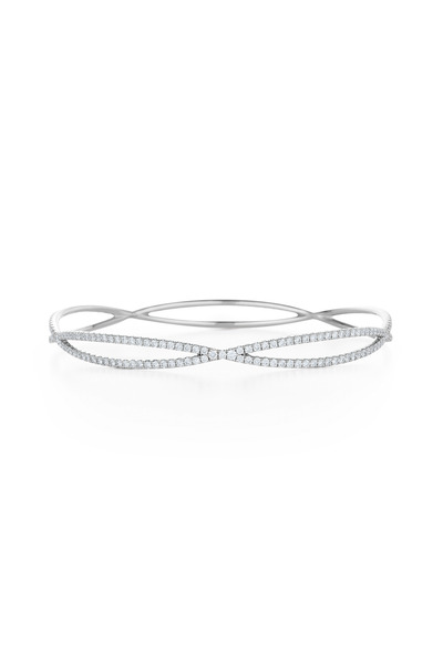 Kwiat - 18K White Gold Diamond Bangle