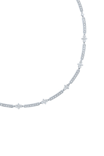Kwiat - Jasmine White Gold Diamond Necklace