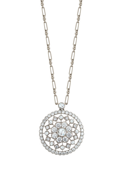 Kwiat - White Gold Diamond Necklace