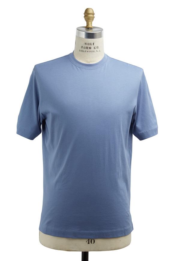 Left Coast Tee Cobalt Blue Cotton T-Shirt