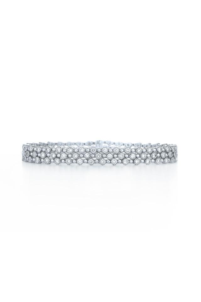 Stardust White Gold White Diamond Bracelet