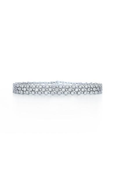 Kwiat - Stardust White Gold White Diamond Bracelet