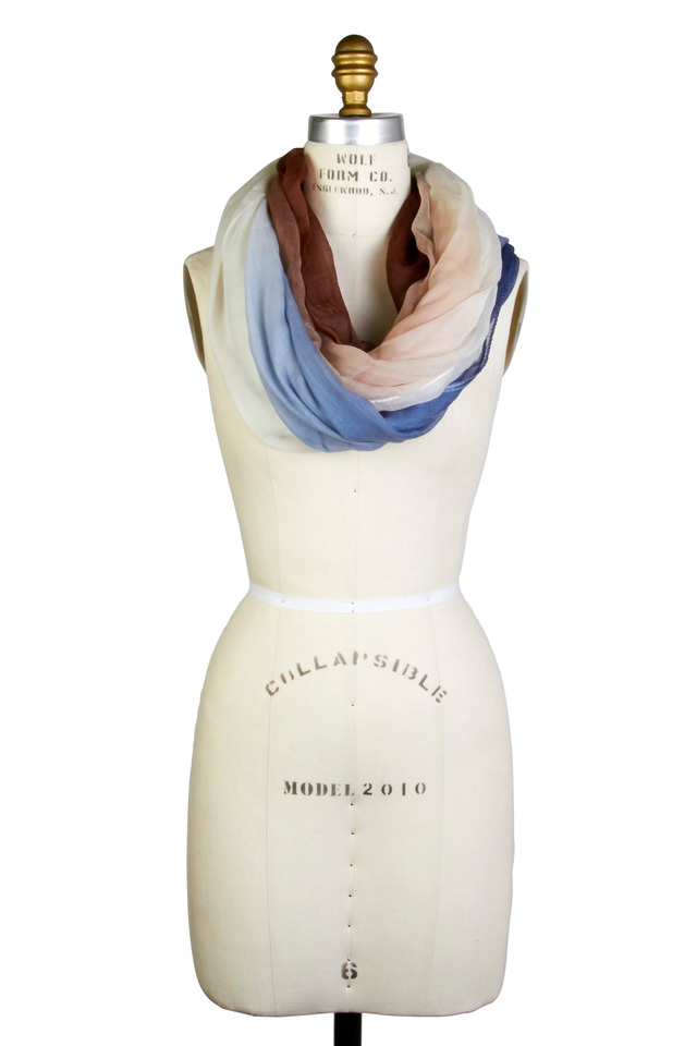 Boiled Ombre Scarf